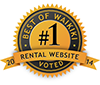 #1 Rental Website for Waikiki 2014