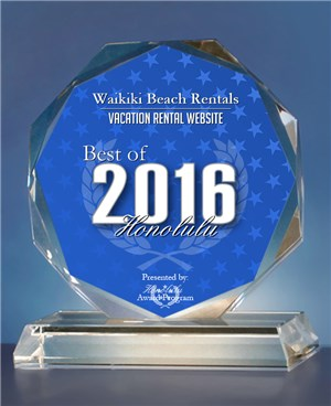 Best of Honolulu Crystal Award