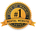 #1 Rental Website for Waikiki