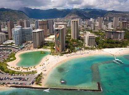 Ilikai & Waikiki Beach