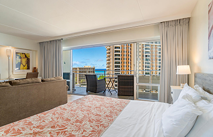 Ocean View from Inside of Unit