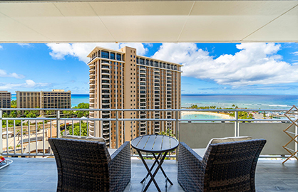 Perfect Ocean View from Lanai