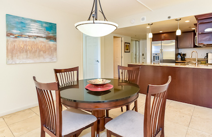 Expansive Kitchen & Dining Area
