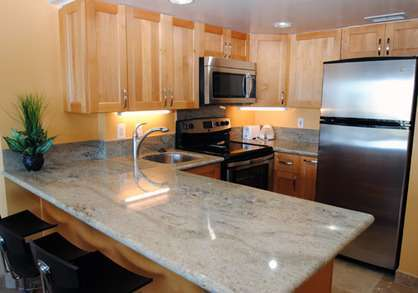 Custom Full Granite Kitchen