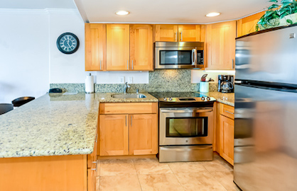 Full Granite Kitchen