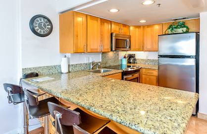 New Modern Granite Kitchen