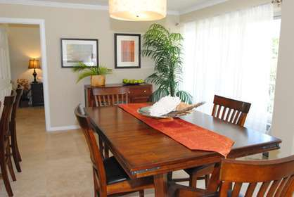 Large Dining Area for Entertaining