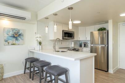 Newly Remodeled Open Full Kitchen w/ Dishwasher!
