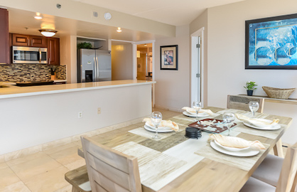 Large Dining Kitchen Area