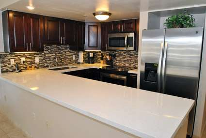 Brand New Quartz Kitchen