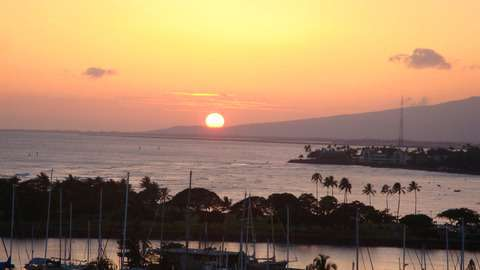Beautiful Sunset Views from Lanai
