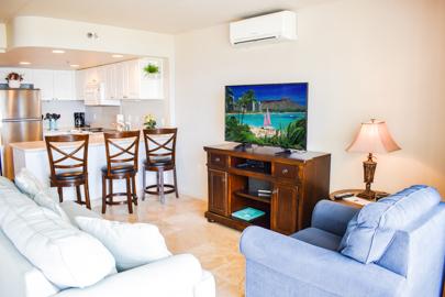 Comfy Living Area w/sofa bed