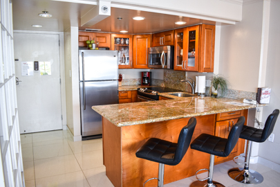 Remodeled Granite Kitchen