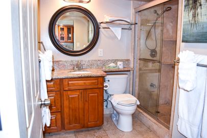 Beautiful Custom Granite Bathroom