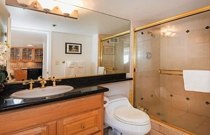 Beautiful Upgraded Guest Bathroom