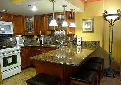 Beautiful Custom Granite Kitchen