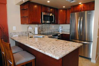 Brand New Granite Kitchen