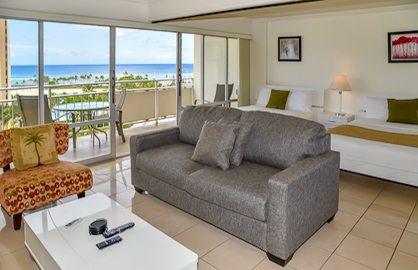 Spacious Living Area - Ocean Views