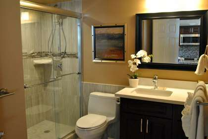 Elegant Guest Bathroom