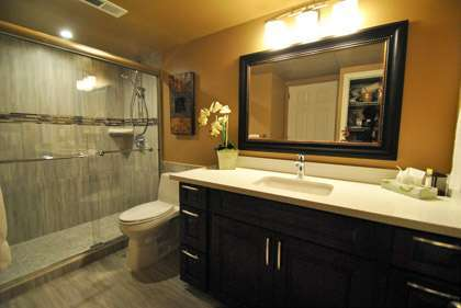 Spacious New Master Bathroom