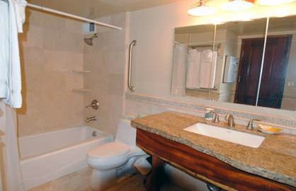 Tub/Shower in Master Bath