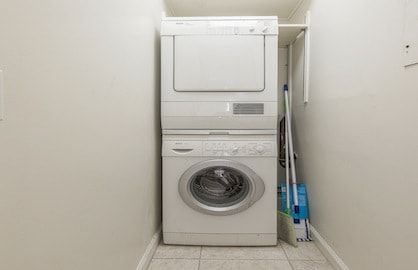 In-Suite Laundry Room