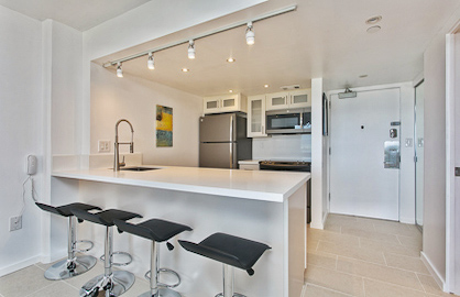 Modern Quartz - Open Kitchen