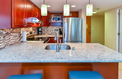 Custom Granite Kitchen.