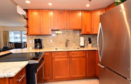 Large Granite Kitchen