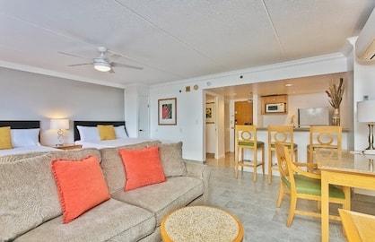 Spacious Living Area - Sofa Bed