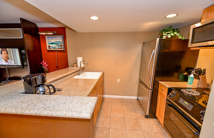 All Granite Kitchen Area