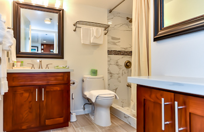 Brand New Modern Bathroom.