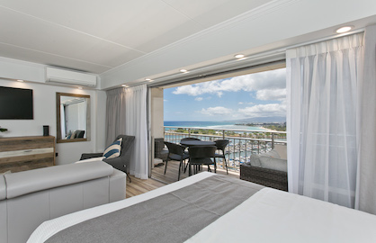 Living Room View of Ocean