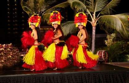 Watch a Luau Show!