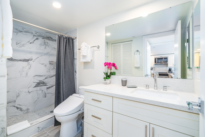 Beautifully Remodeled Guest Bathroom