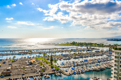 Stunning Marina Ocean Views!